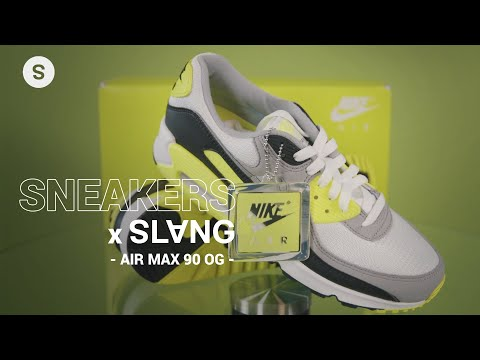 Sneakers x Slang | Unboxing de los Air Max 90 OG