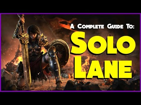 So You Want to be a Solo Main? | A Comprehensive Guide to the Solo Lane in Smite Season 5