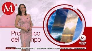El clima del 02 de julio, con Arlett Fernández
