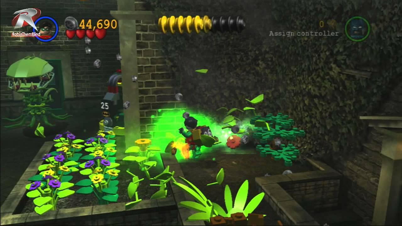 Lego Batman The Video Game Walkthrough #4 - YouTube