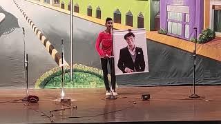 """Myron Correia Singing konkani comedy song in """"100% Tiatr"""""""