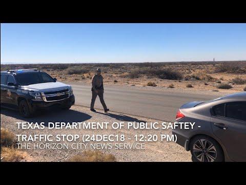 TWO TEXAS DPS TRAFFIC STOPS - 24 & 26 DEC18