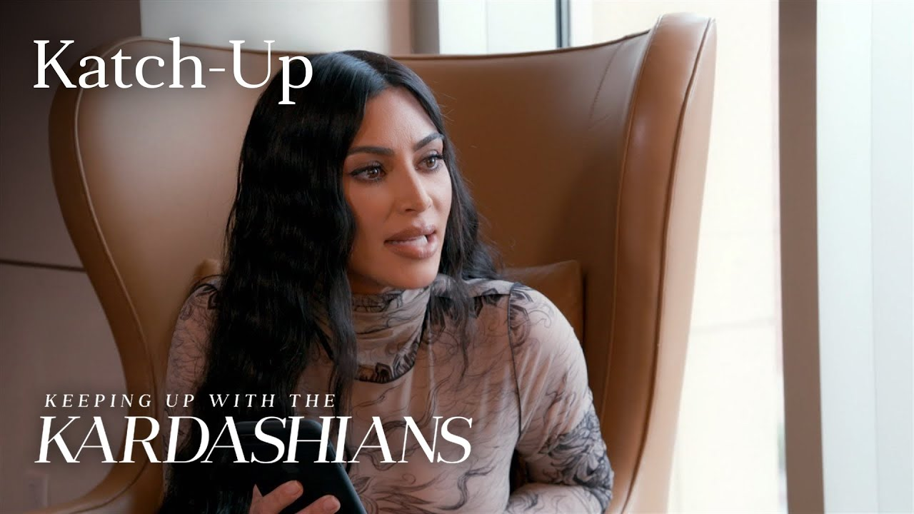 Kim Kardashian Gets A Health Update & Khloé Struggles With Tristan: KUWTK Katch-Up (S17, Ep2) |