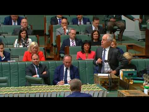 House Question Time 7 September 2017