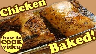 How To Cook Chicken Leg Thighs Breast Baked Fried - Dinner Recipes Bake Baking Dishes Recipe Jazevox