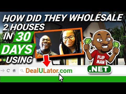 How They Wholesaled 2 Houses with Dealulator in 30 Days | Built Cash Buyers List using Dealulator