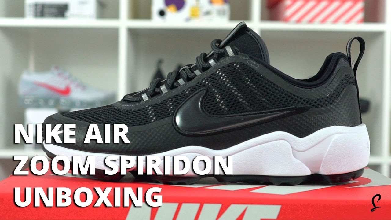66c879740d7 Nike Air Zoom Spiridon Ultra Black White Unboxing   Review - YouTube