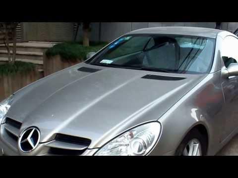 Mercedes SLK 350 in Ningbo, China