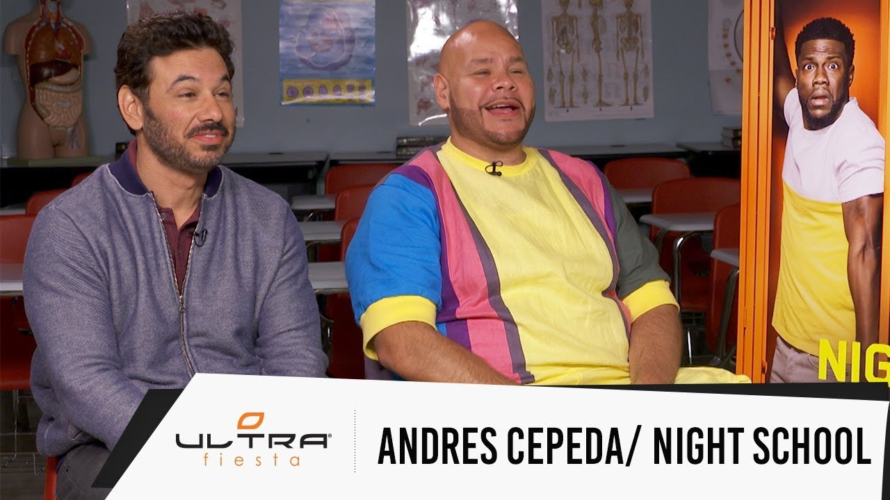 Fat Joe and Al Madrigal talk new movie Night School, Andres Cepeda presenta Magia y  mas