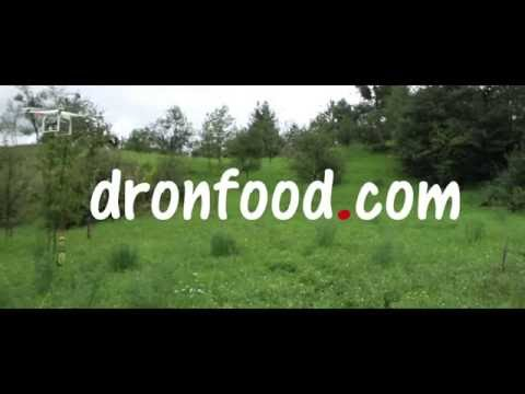 Drone Food Delivery- Sensation Mineral Water