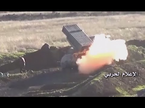 Battle for Daraa: Syrian Army bombards rebels in southern Syria