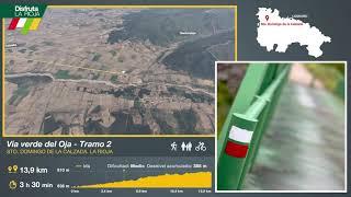 Segundo tramo de la Vía Verde del Oja, Casalarreina. Disfruta La Rioja