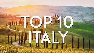 TOP 10 things to do in ITALY | Travel Guide