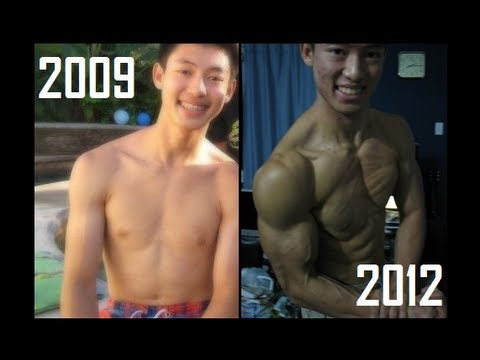 Not very Video clips of asian bodybuilding workouts