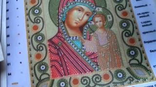 ОБЗОР ИКОН С ПРИШИВНЫМИ КАМНЯМИ, ЗАГОТОВОК РУШНИКОВ (Маричка)
