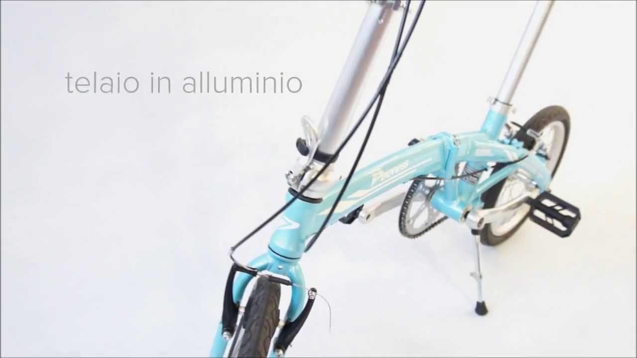 Bici Ultraleggera Pieghevole.Biwheel Boating Bici Pieghevole Ultraleggera Folding Bike 9kg