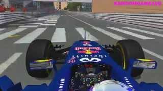 rFactor - F1 2014 - Daniel Ricciardo Onboard @ Monaco HD