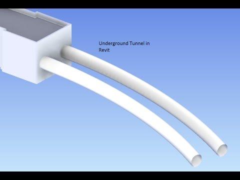 Create Underground Tunnel in Revit