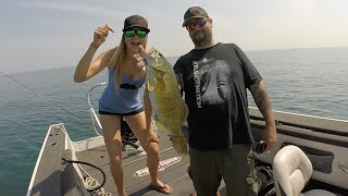 Lake St. Clair SMALLMOUTH Grind!! (Ep. 1)