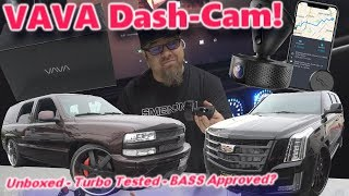 Vava HD 360 Swivel Dash Cam Unboxed,  Turbo-Tested & LOUD BASS Approved