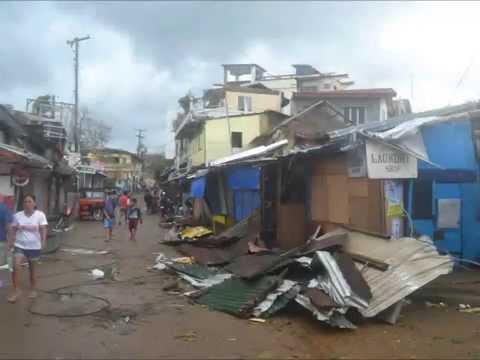 Coron a week after Yolanda Typhoon