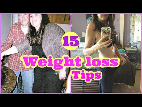 15 WEIGHT LOSS TIPS / Things that helped me lose 90 pounds