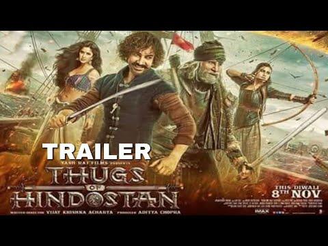 Thugs of Hindostan  new poster Aamir Khan Amitabh Bachchan Katrina Kaif Fatima Sana sheikh,