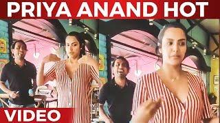 Priya Anand Live Singing performance   Priya Anand