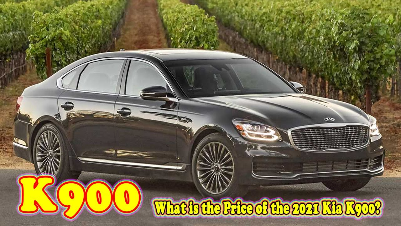 2021 Kia K900 Review and Release date