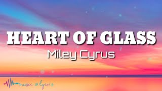Miley Cyrus - Heart Of Glass (Lyrics) [Live from the iHeart Music Festival]