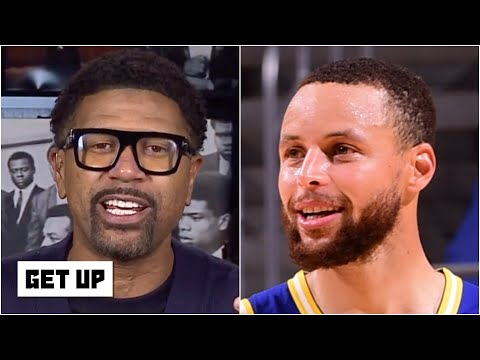 Jalen Rose reacts to Steph Curry leading the Warriors to a win over the Jazz   Get Up
