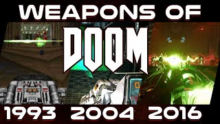 Doom 1993 - 2016 : Weapon Comparison