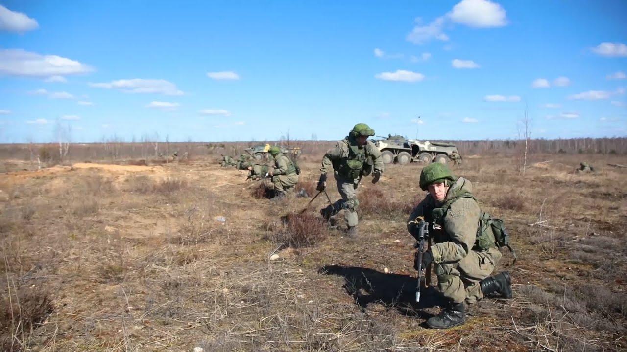Совместные учения ВДВ России и ССО Белоруссии