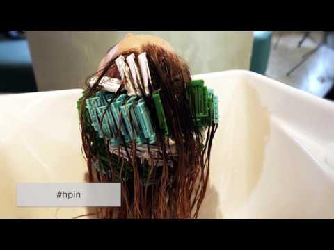 Как делается прикорневой объем волос в парикмахерской видео