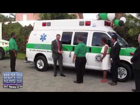 New Ambulance Donated To St John, June 9 2014