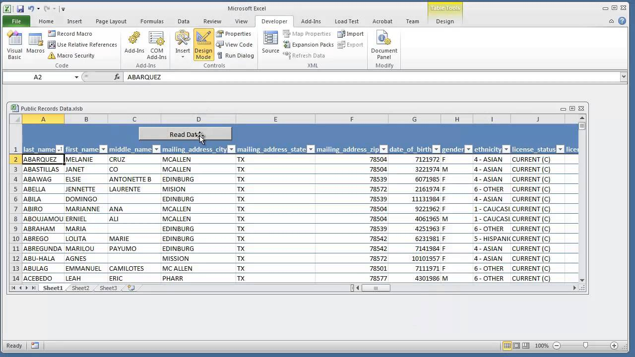 Find First Cell That Is A Certain Length - Microsoft Excel 2010 VBA Programming for Beginners (2 of 6) - YouTube