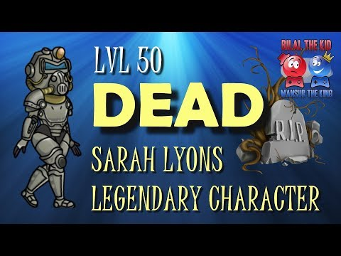 FALLOUT SHELTER DAY 13 || LEGENDARY CHARACTER SARAH LYONS DIES