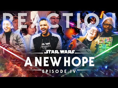 Star Wars Episode IV: A New Hope - Group Reaction