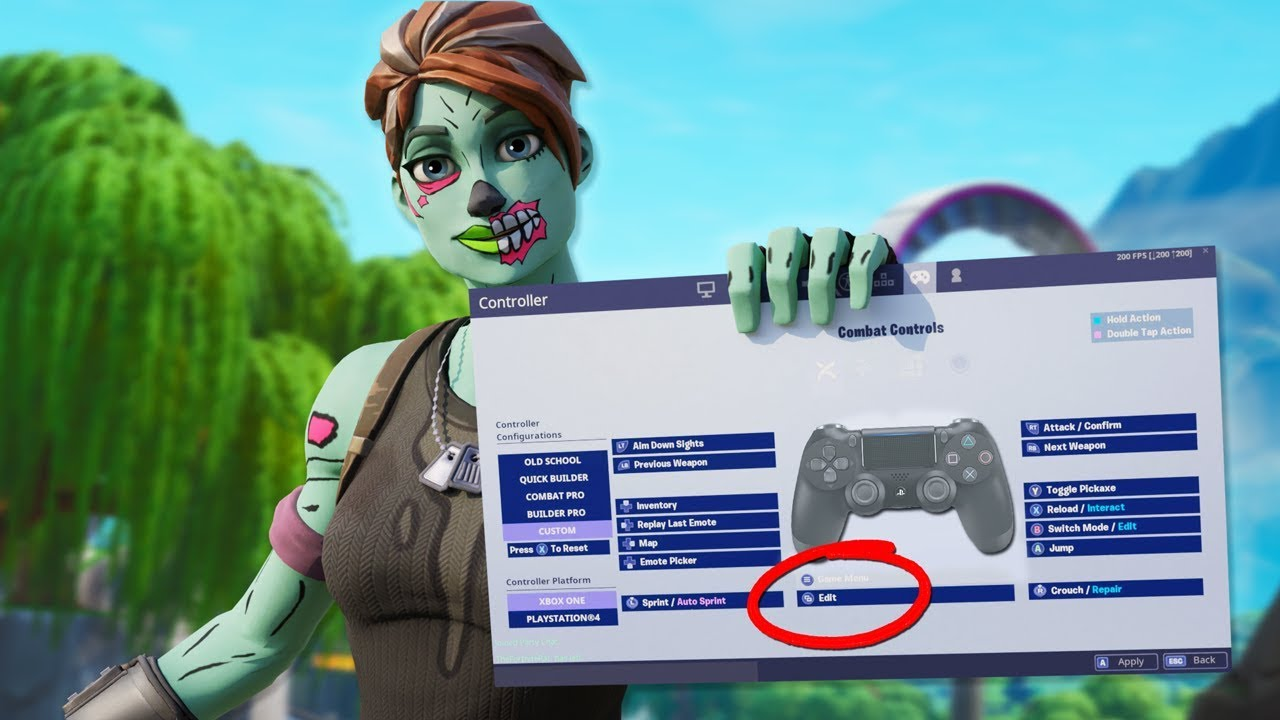 *BEST* Fortnite Controller Settings/Sensitivity | PS4 Controller on PC |  Fortnite Season 9