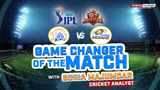 Game Changer of The Match   Chennai vs Mumbai T20 by Boria Majumdar   IPL 2019