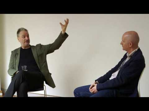 Paul Morley in Conversation at London College of Communicati