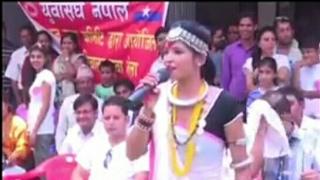 21 बर्सिय शिव कुमारी थारू को सुन्नै पर्ने दमदार भाषण।तराई मा एमाले छैन भन्ने हरु को मुखमा ताला
