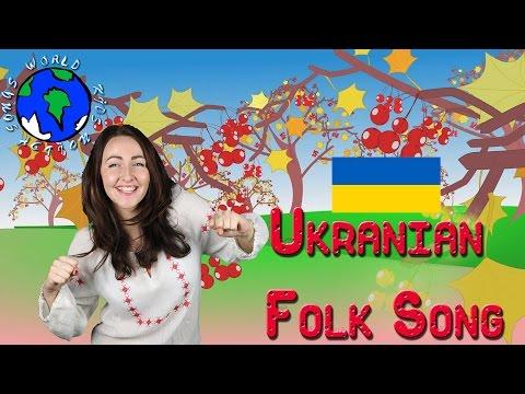 Червона калина | Ukrainian Folk Rhyme | World Kids Action Songs