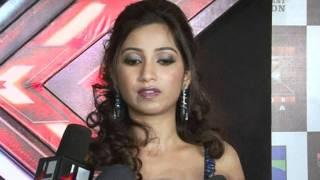 Aditya Narayan  Sonu Nigam  Shreya Ghoshal And Sanjay Leela Bhansali at X Factor TV Show