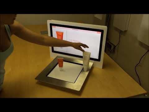 RFID Interactive System for Cosmetics (Powered & Made by Keonn Technologies, S.L.)