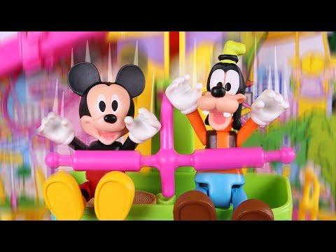 Mickey Mouse Juguetes en Español 🐭 Día en el parque de atracciones