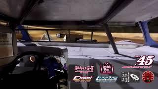 Laurens County Speedway - 602 In-Car Video 7-7-18