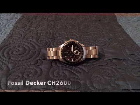 Fossil Decker CH2600 - Watch Review