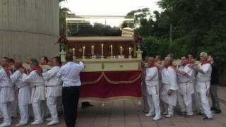 Processione delle Reliquie del Corpo di San Gaspare del Bufalo a Messina