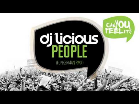 DJ Licious - People - Funkerman Remix (Official Cover Art)